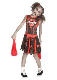 spirit halloween michael myers zombie cheerleader girls costume girls costumes kids halloween