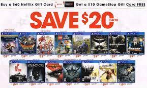 psn card black friday gamestop u0027s black friday ads leaked early nerd reactor