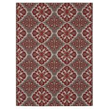 Red And Orange Rug Outdoor Rug Mosaic Red Threshold Target