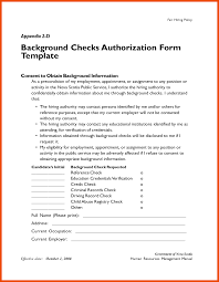 Credit Release Form 10 11 Sle Background Check Release Form Formatmemo