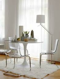 Dining Room Ikea I Wanted To Work With Transparency As A Predominate Element In