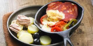 cuisine raclette recette originale raclette basque facile et pas cher recette sur cuisine actuelle
