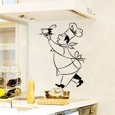 stickers cuisine stickers cuisine chef cuistot vinyl wall decals sticker mural wall