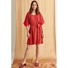 stine goya stine goya smilla dress spice wanda harland design store