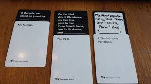 cards against humanity expansion cards against humanity is it for you the fims gaming club