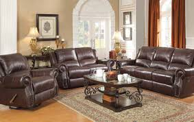 Brown Leather Reclining Sofa by Brown Leather Power Reclining Sofa Steal A Sofa Furniture Outlet