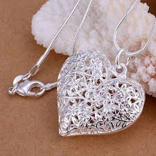 aliexpress necklace pendants images Buy 2016 new free shipping silver plated fashion jpg