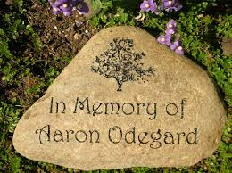 garden memorial stones engraved rocks for landscaping memorial rocks personalized garden