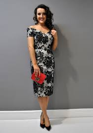 black dress company the pretty dress company fatale embroidered dress black multi