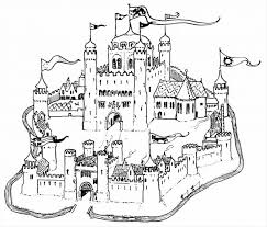 coloring pages boys magical coloring castle castle coloring