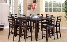 Cheap Dining Room Chairs Set Of 4 by Dining Room Bar Height Kitchen Table And Chairs Awesome Tall