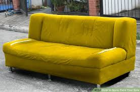 How Do I Get Rid Of My Old Sofa How To Spray Paint Your Sofa 14 Steps With Pictures Wikihow
