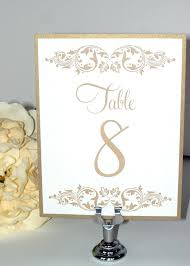 gold wedding table numbers wedding table numbers table numbers the event group weddings table
