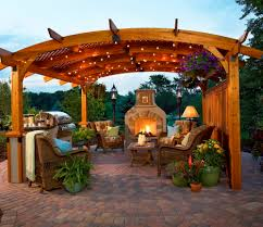 decor patio design with costco pergola and wicker patio furniture