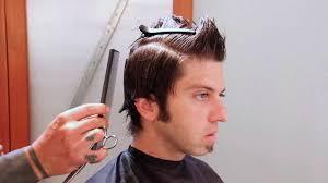men u0027s haircut tutorial full length faux hawk youtube