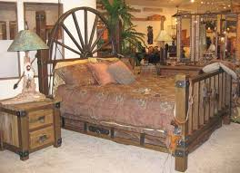 Western Bed Frames King Bed Western Bed Wheel Wagon Bed Swb172 For The Home