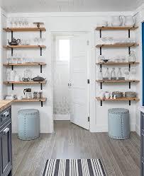 kitchen wall shelf ideas open shelving in the corner shelving open shelving