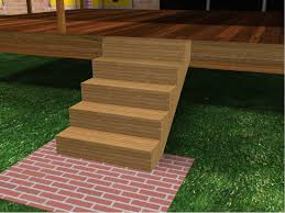 Average Cost To Build A Patio by How To Build Porch Steps 13 Steps With Pictures Wikihow