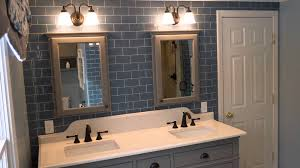how to use glass tile in a bathroom for a timeless look youtube