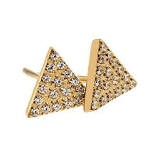 gold stud earrings uk edblad mountain gold stud earrings buy online today utility