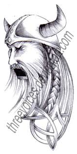 tattoo design angry viking by threevoices on deviantart