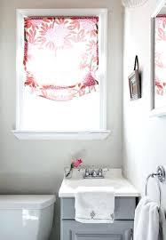 curtain ideas for bathroom windows small window curtains half length curtains best window