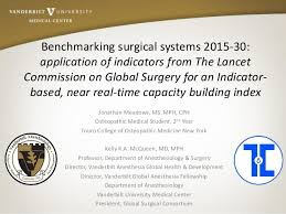 benchmarking surgical systems 2015 30 application of indicators from u2026