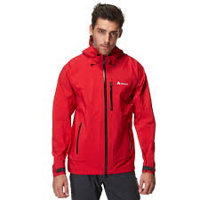 technicals men s 3 layer waterproof jacket