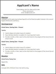 Reading Teacher Resume People Looking To Find A Job In A Different Field Can Use This