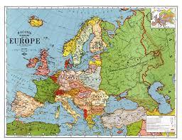 post ww1 map interwar period