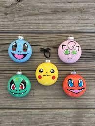 home made ornaments cool pokémon