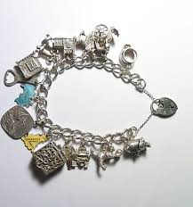 jewelry sterling charm bracelet images Vintage jewellery vintage jewelry sterling silver charm bracelet JPG