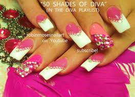 diva nails beautify themselves with sweet nails
