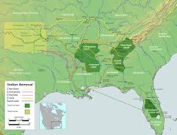 Shawnee Map Indian Removal Wikipedia