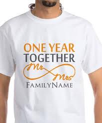 1st wedding anniversary gift for 1st wedding anniversary 1st wedding anniversary t shirts cafepress