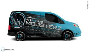 nissan nv200 nissan nv200 van wrap design by essellegi