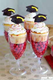 graduation cupcake ideas funfetti graduation cupcakes easy graduation party ideas