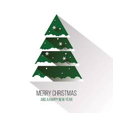 modern christmas tree vector graphic vector free vector download