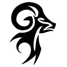 10 awesome aries tribal tattoos only tribal