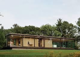 desai chia creates a glass box home in rural new york state