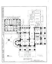 antebellum floor plans plans historic mansion floor plans