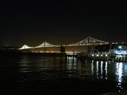 Bay Bridge Lights File San Francisco Bay Bridge Lights Jpg Wikimedia Commons