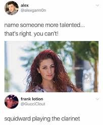 Clarinet Player Meme - dopl3r com memes alex alexgannon name someone more talented