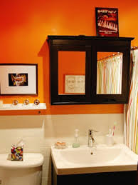 orange bathroom decorating ideas blue and orange bathroom decor home design royal blue and orange
