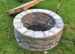How To Build Your Own Firepit How To Build A Pit In The Ground Best Of Build Your Own