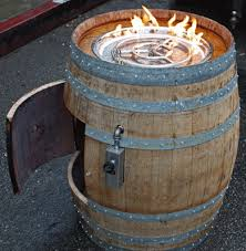Propane Fire Pit Insert by Convert A Wine Barrel Into A Safe Outdoor Firepit