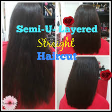 back of hairstyle cut with layers and ushape cut in back 2016 semi u layered straight haircut lorenas youtube