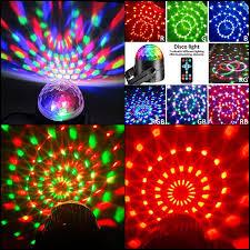 sound activated dj lights disco ball lights dj light sound activated party strobe lights home