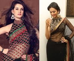 halter neck blouse top 26 types of blouse neck designs fashionbuzzer com
