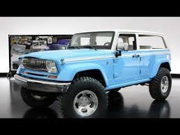 wagoneer jeep 2015 new jeep chief concept 2015 easter jeep safari youtube